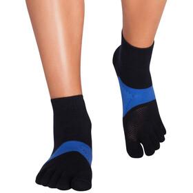 Knitido Marathon TS Running Socks, noir/bleu